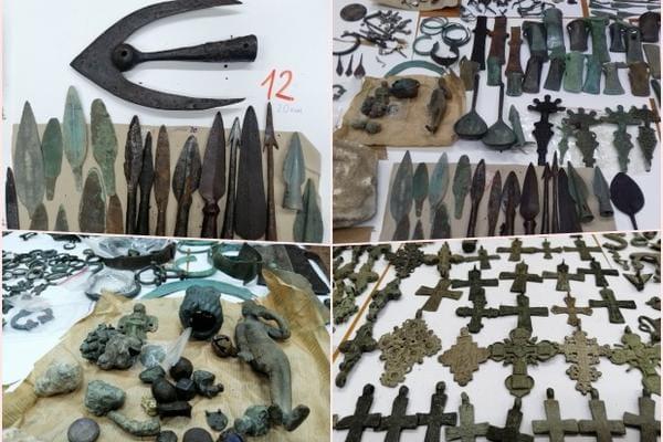 В Сербии задержали большую археологическую коллекцию в грузовике с украинским паркетом (ФОТО)