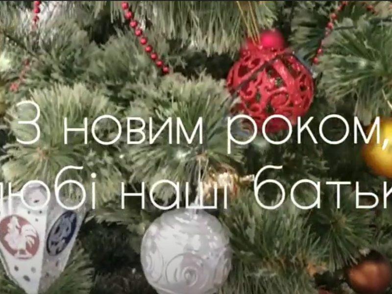 Николаевские школьники начинают новогодний флешмоб «С Новым годом, родители!» (ВИДЕО)