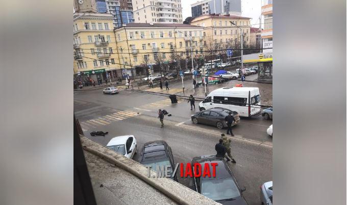 В Грозном стреляли – 3 убитых, в том числе полицейский, 1 ранен (ФОТО, ВИДЕО)