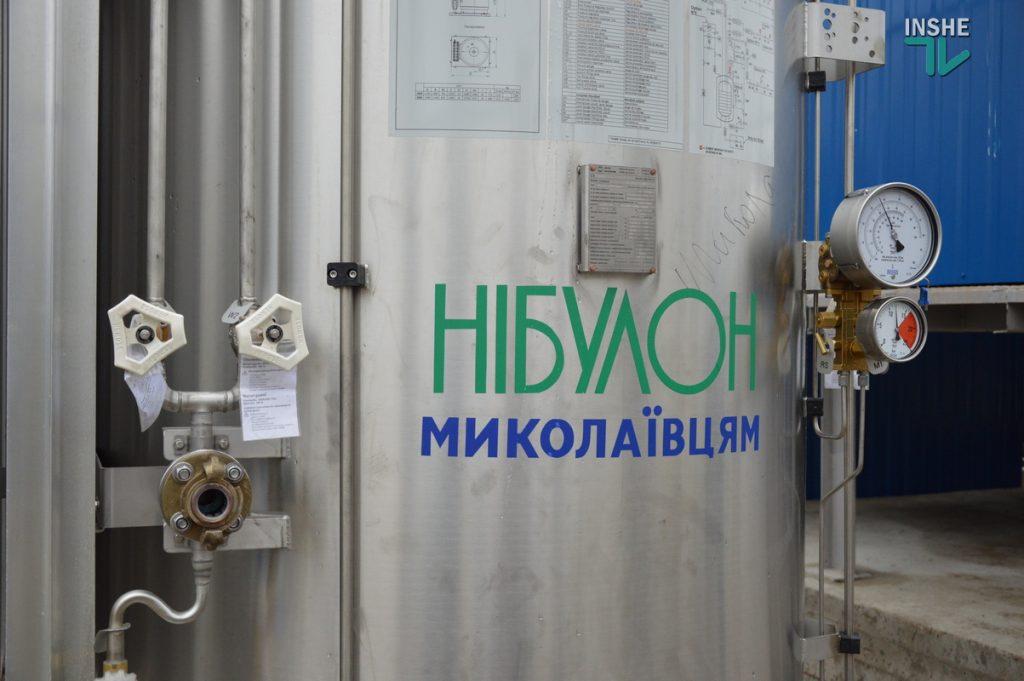 В Николаеве на территории городской больницы №1 открыли кислородную рампу, подаренную «НИБУЛОНом» (ФОТО и ВИДЕО) 3
