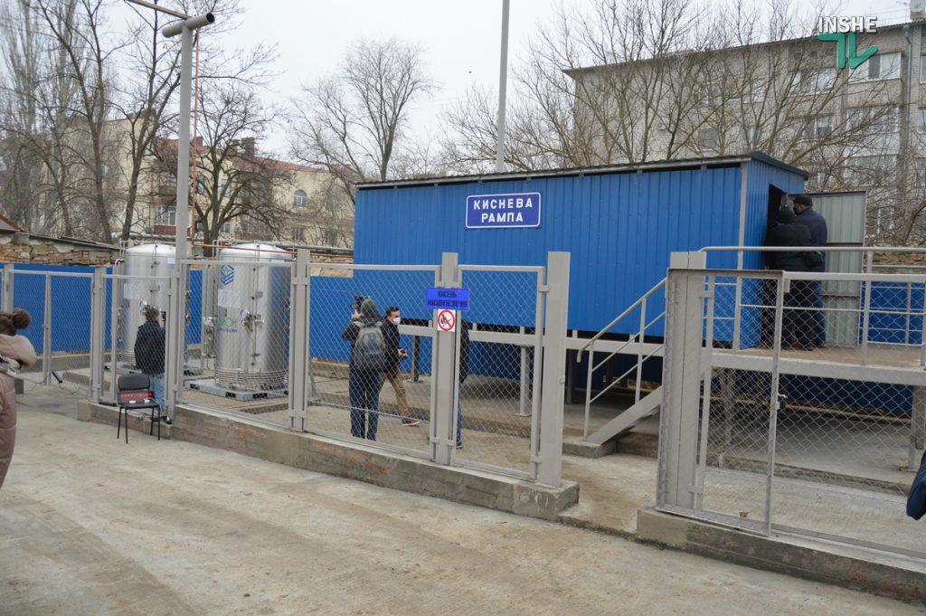 В Николаеве на территории городской больницы №1 открыли кислородную рампу, подаренную «НИБУЛОНом» (ФОТО и ВИДЕО) 5