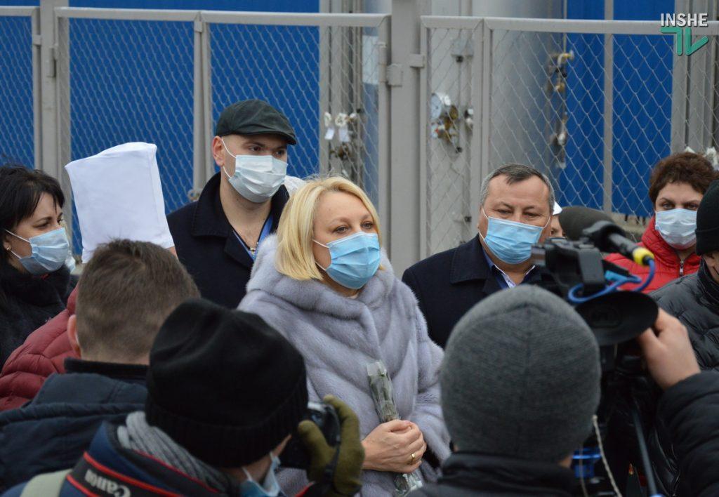 В Николаеве на территории городской больницы №1 открыли кислородную рампу, подаренную «НИБУЛОНом» (ФОТО и ВИДЕО) 7