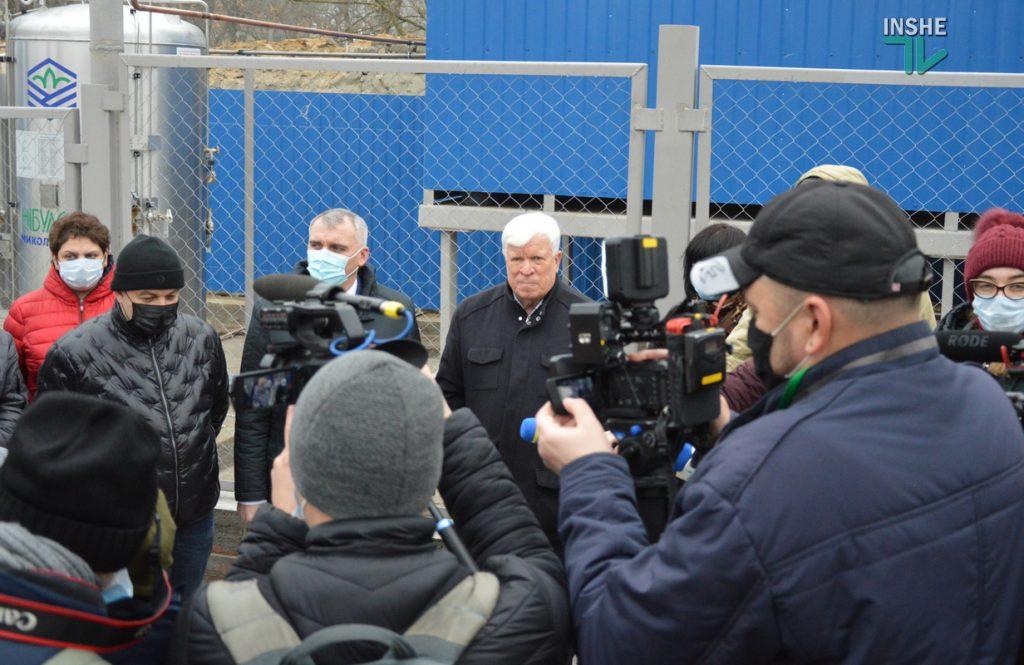 В Николаеве на территории городской больницы №1 открыли кислородную рампу, подаренную «НИБУЛОНом» (ФОТО и ВИДЕО) 9