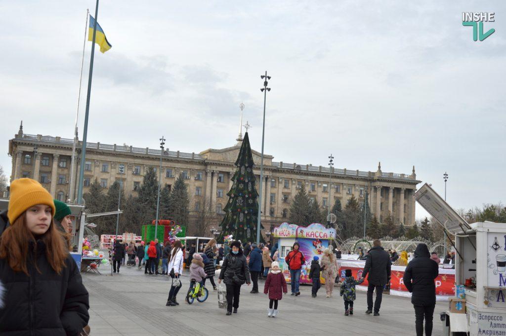 Николаев готовится к встрече 2021 года – репортаж с Соборной площади (ФОТО и ВИДЕО) 1