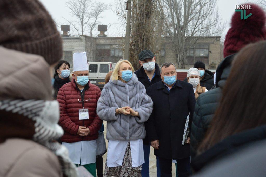 В Николаеве на территории городской больницы №1 открыли кислородную рампу, подаренную «НИБУЛОНом» (ФОТО и ВИДЕО) 13