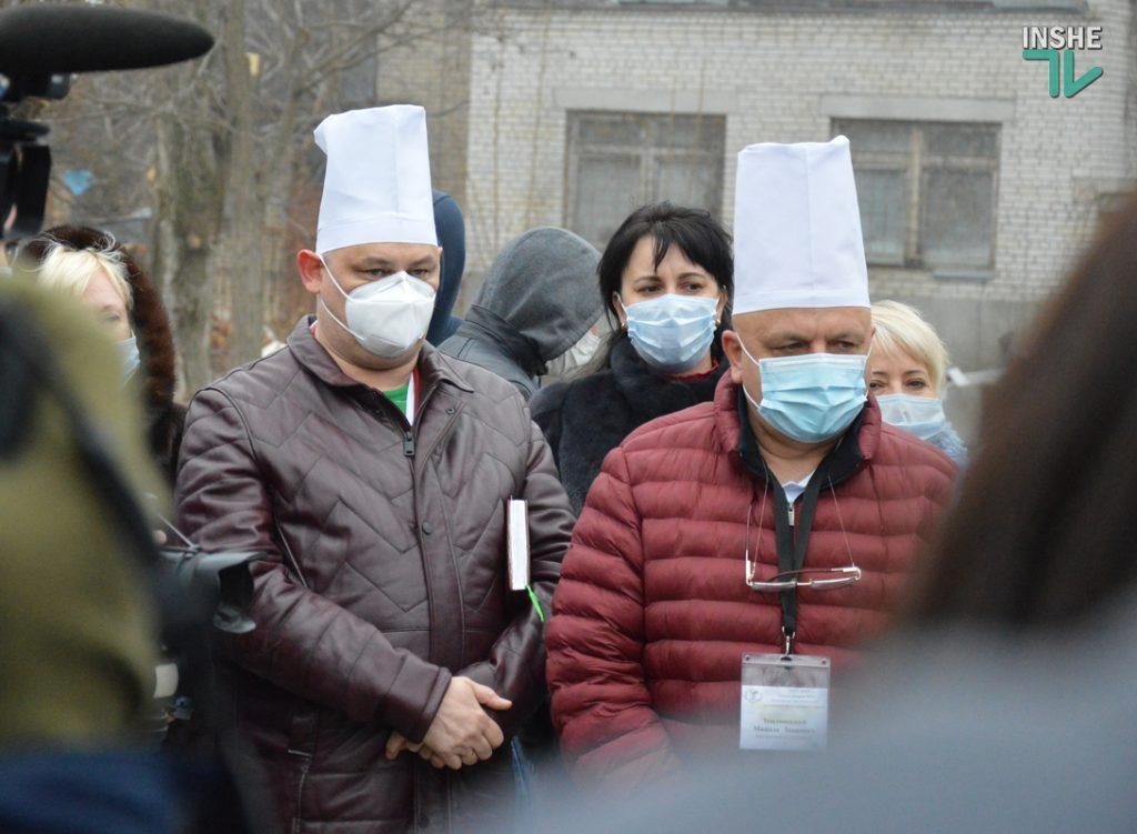 В Николаеве на территории городской больницы №1 открыли кислородную рампу, подаренную «НИБУЛОНом» (ФОТО и ВИДЕО) 15