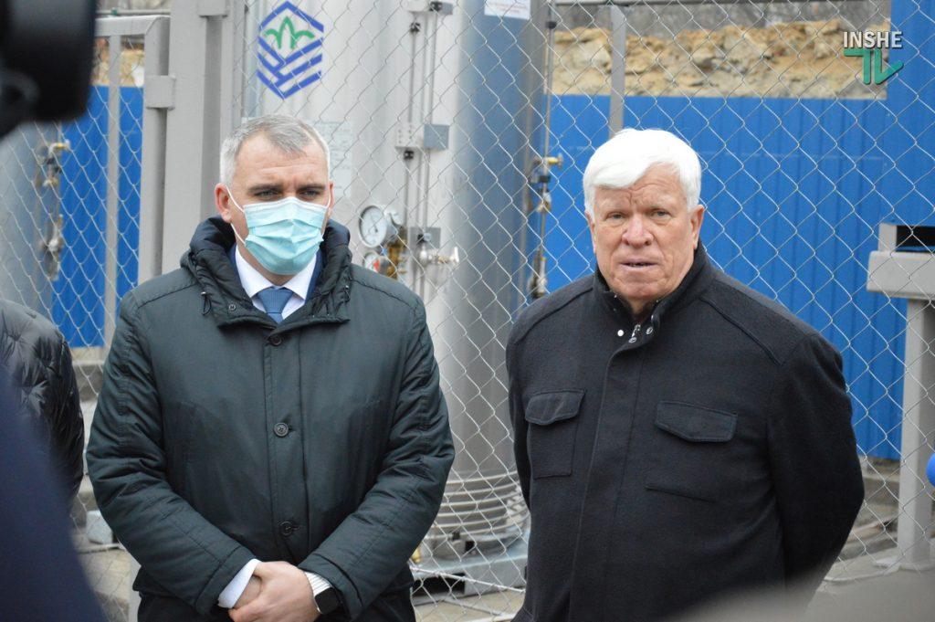 В Николаеве на территории городской больницы №1 открыли кислородную рампу, подаренную «НИБУЛОНом» (ФОТО и ВИДЕО) 21