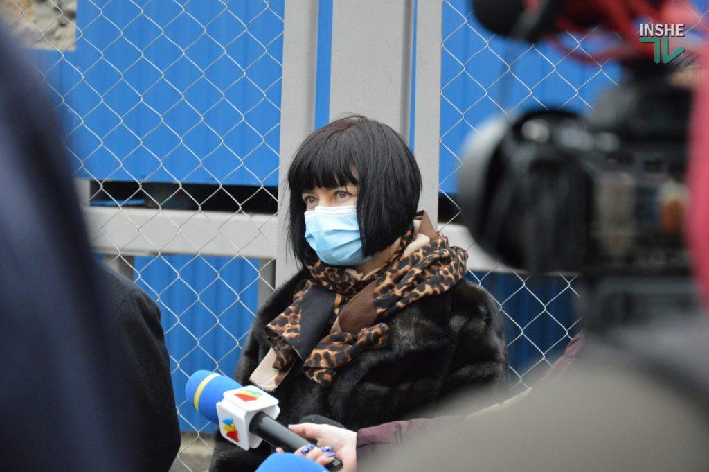 В Николаеве на территории городской больницы №1 открыли кислородную рампу, подаренную «НИБУЛОНом» (ФОТО и ВИДЕО) 23