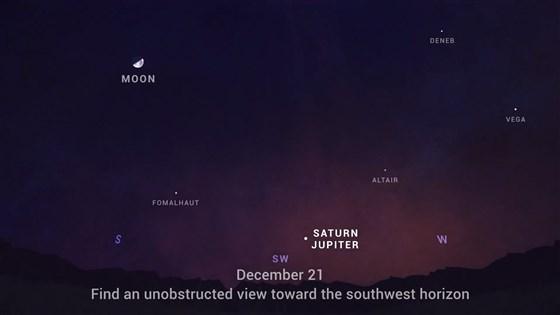 Пусть нам всем повезет. В конце года можно будет увидеть в небе реальную Вифлеемскую звезду