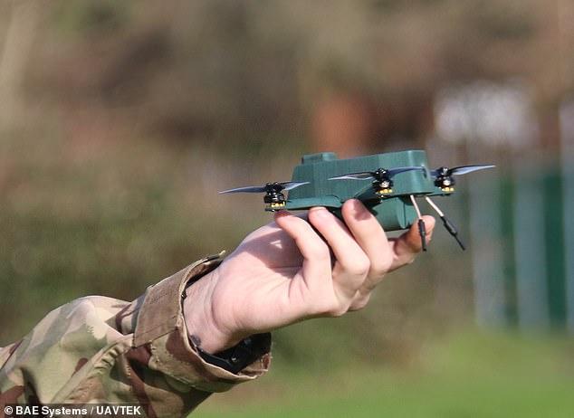 Эти шпионы не боятся ветра. В Британии испытали беспилотных «жуков» (ФОТО)