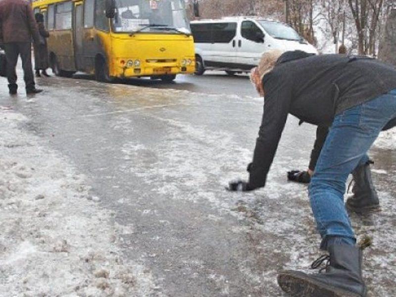 Завтра в Николаеве снег с дождем, гололед с гололедицей и штормовой ветер