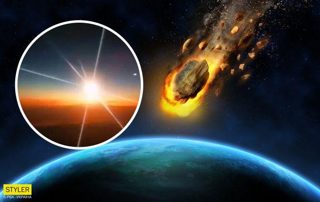 Огненный шар. Над Китаем пролетел и взорвался метеорит 10-тонник (ФОТО, ВИДЕО)