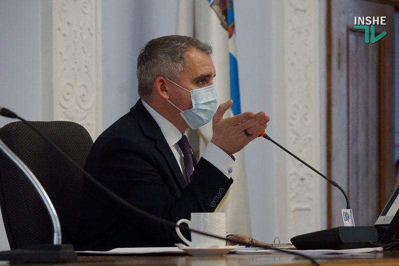 Мэр Николаева собирает земельную сессию 26 февраля