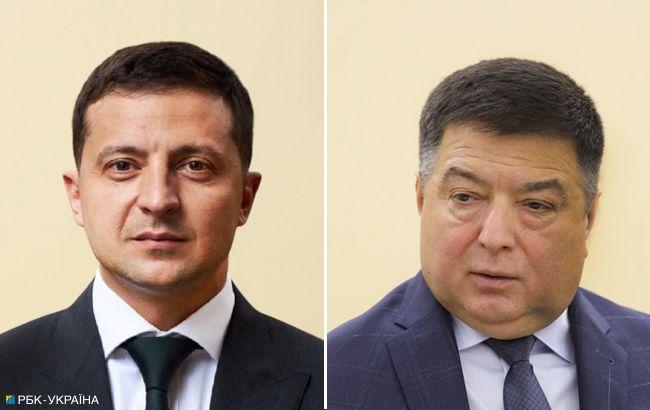 Сам ты ничтожный: Офис Президента отреагировал на заявление КСУ по отставке Тупицкого