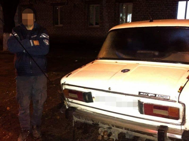 В Николаеве патрульные задержали водителя «под кафом», который уже был лишен водительских прав за езду в наркотическом опьянении (ФОТО)