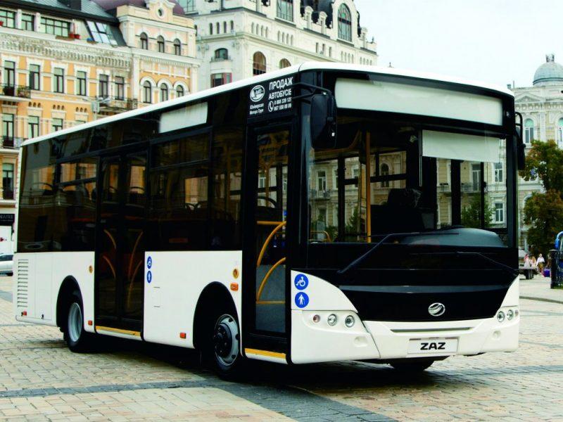 Украинский автобус ZAZ А10 в ближайшее время выйдет на рынки стран ЕС – разрешение уже получено (ФОТО)