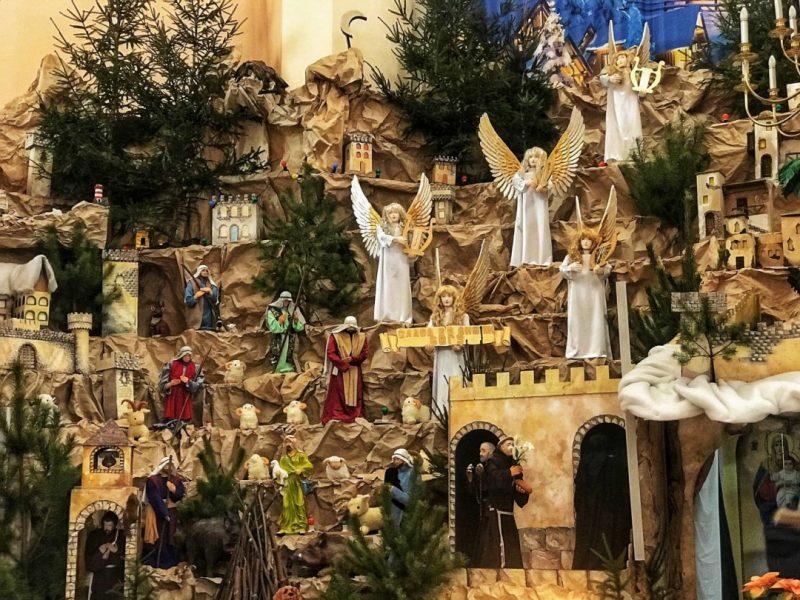 В Тернополе открылся самый большой в стране Рождественский вертеп (ФОТО, ВИДЕО)