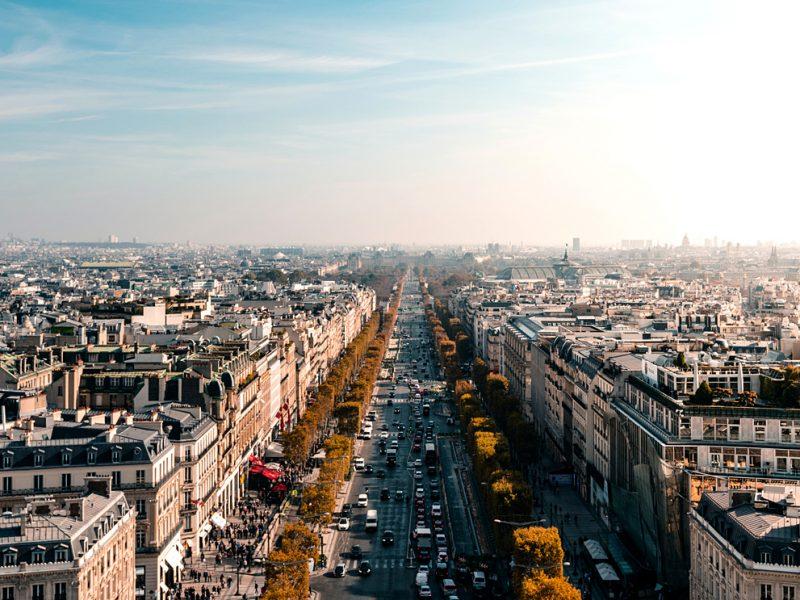 Елисейские поля в Париже ждет большая реконструкция – они станут садом