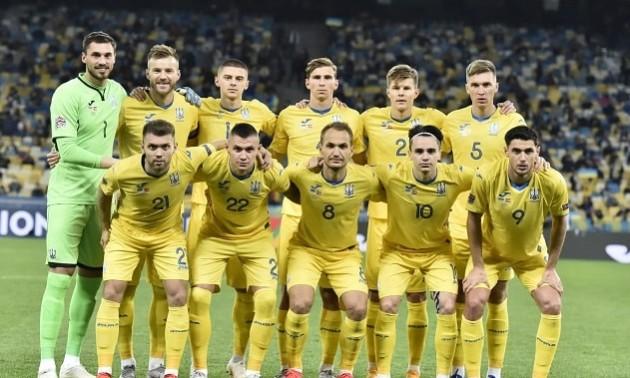 Определились соперники сборной Украины по футболу перед стартом Евро-2020