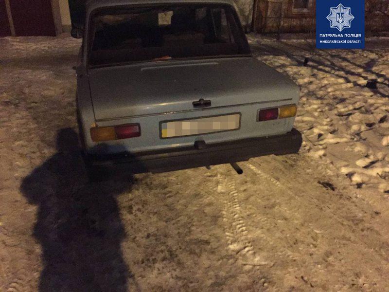 В Николаеве патрульные задержали очередного пьяного водителя (ФОТО)