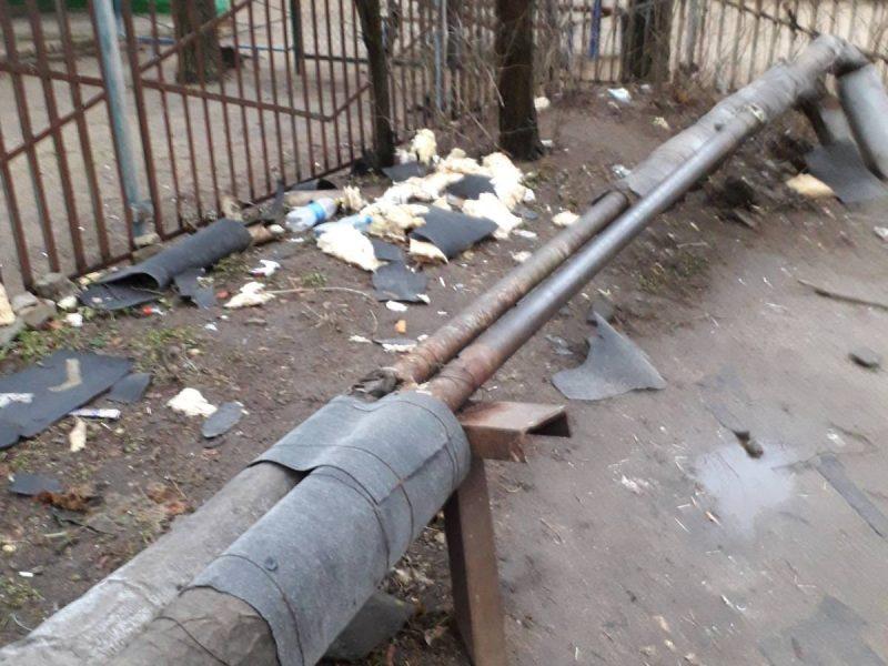 Теплосеть «Николаевоблтеплоэнерго» пострадала от рук вандалов (ФОТО)
