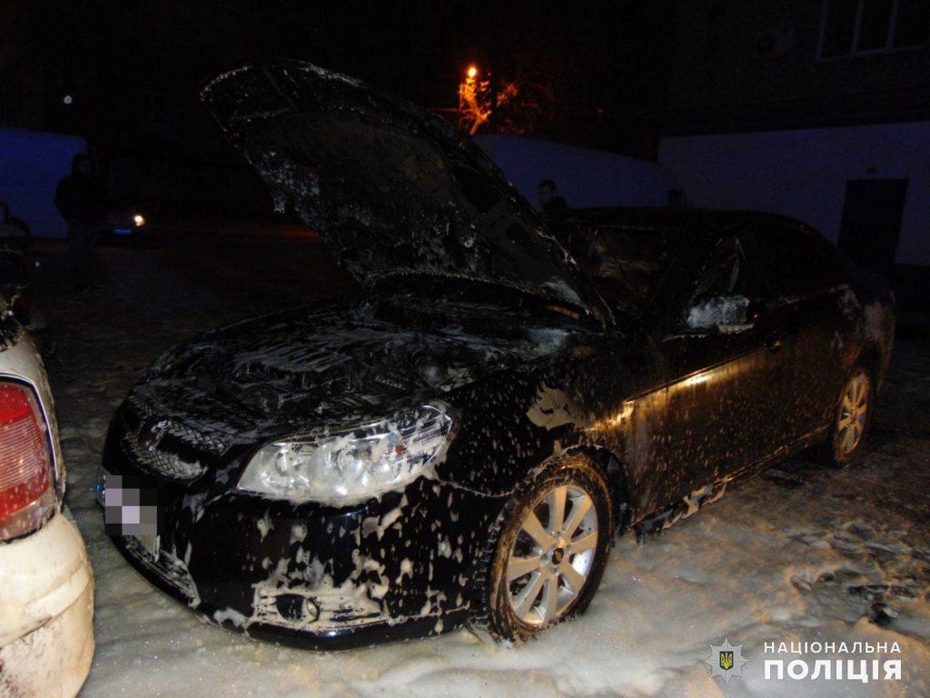 В Николаеве полиция расследует поджог автомобиля Chevrolet в Ингульском районе (ФОТО) 1