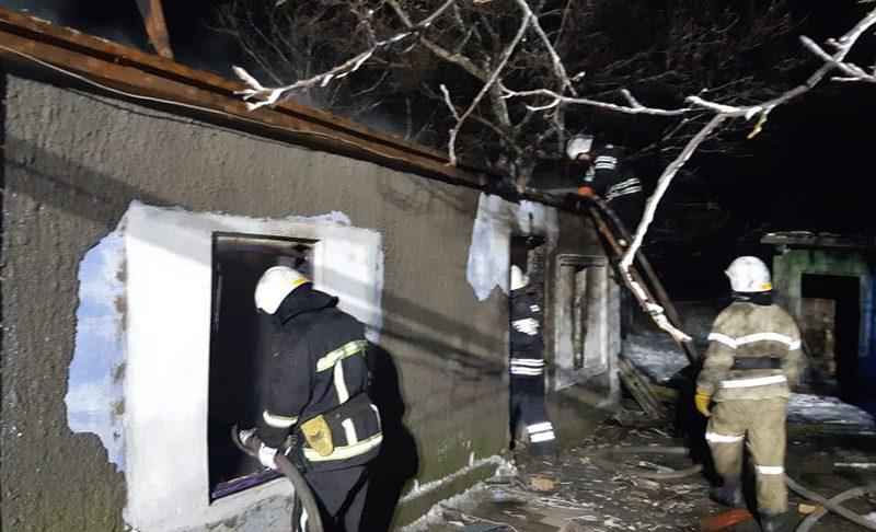 Из-за печек в Николаевской области трижды тушили пожары в жилье. В Витовском районе погибла 37-летняя женщина (ФОТО)