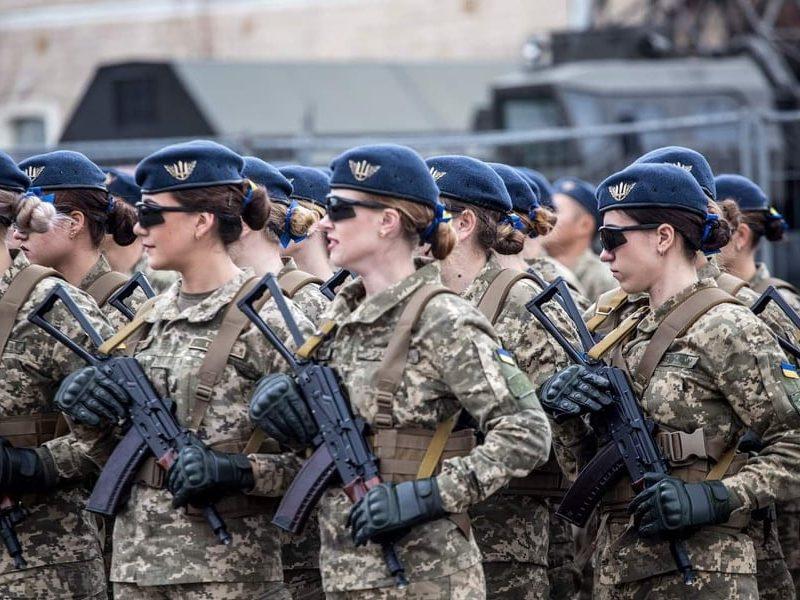 В украинской армии служит свыше 31 тысячи женщин