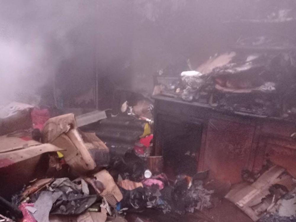 В Баштанке на пожаре дома хозяйка получила ожоги, во Врадиевке горел автомобиль (ФОТО) 1