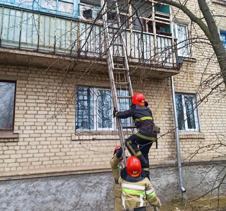 В Первомайске и Николаеве спасатели помогли медикам добраться до больных с инсультом (ФОТО) 1