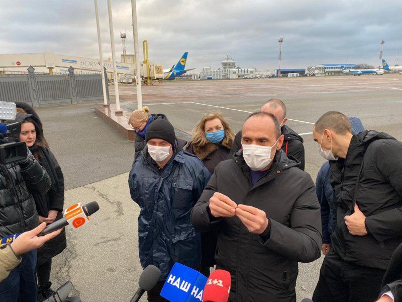 В Украину вернулись моряки, отсидевшие более 4 лет в ливийской тюрьме