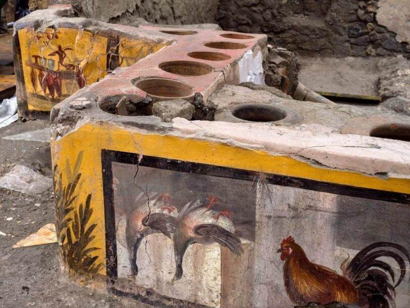 В Древних Помпеях был фаст-фуд. И знаете, что они ели? (ФОТО)