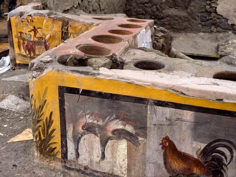 В Древних Помпеях был фаст-фуд. И знаете, что они ели? (ФОТО) 1