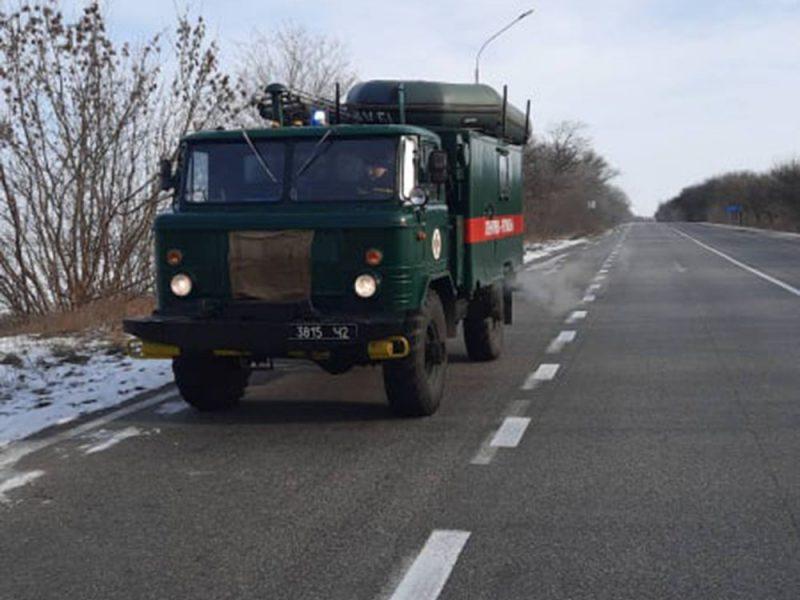Чтобы никто не замерз. По дорогам Николаевщины курсируют мобильные группы спасателей (ФОТО)