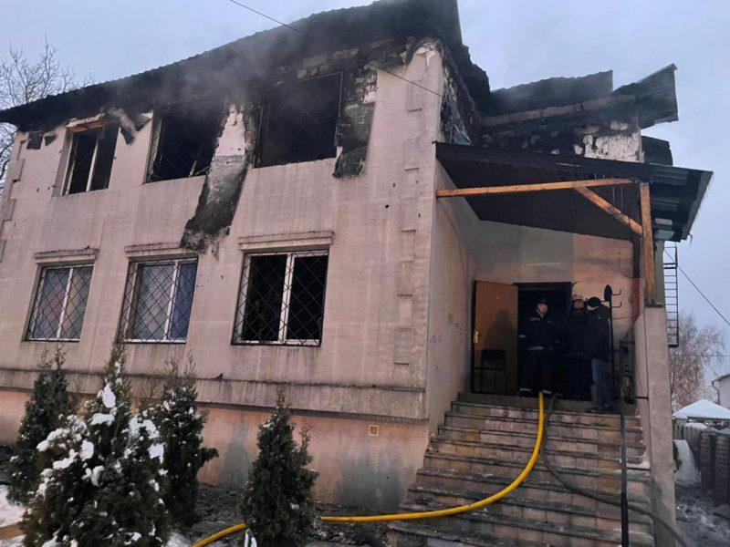 В Харькове завтра траур по 15 погибшим в пожаре в доме престарелых, в стране проверят все подобные заведения