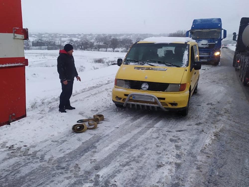 Снег все ближе, на севере Николаевщины уже замело (ФОТО) 1