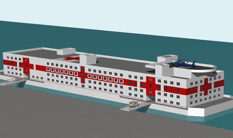 В Херсоне построят плавучий госпиталь – на случай эпидемий и землетрясений (ФОТО)