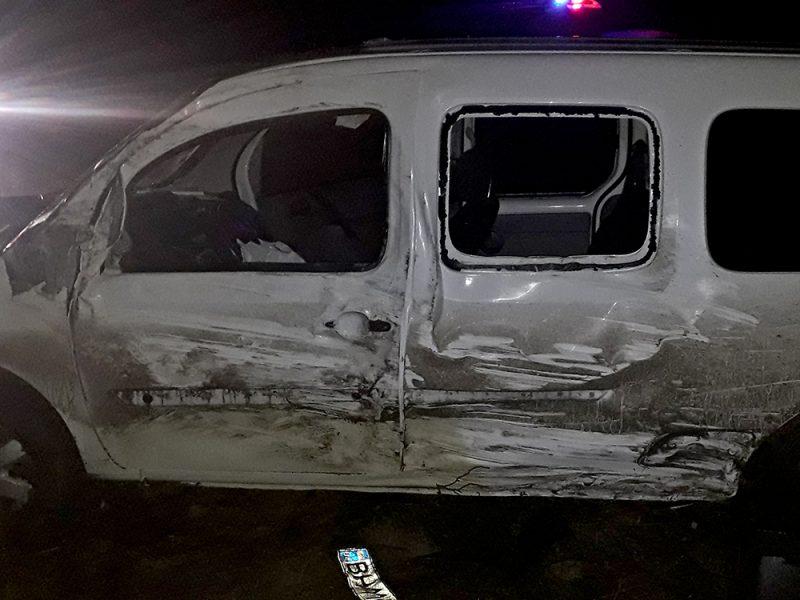 Ночное ДТП в Веселиново – водитель микроавтобуса в тяжелом состоянии в больнице (ФОТО)