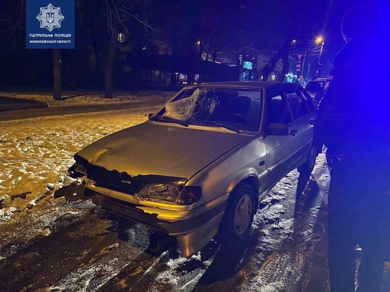 В Николаеве таксист помог задержать нетрезвого водителя, который совершил ДТП с пострадавшими и пытался скрыться (ФОТО)