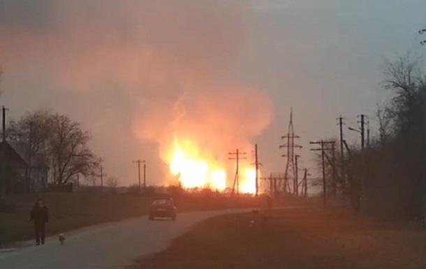 Взрыв газопровода в Полтавской области: подробности (ФОТО и ВИДЕО)