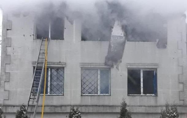 В Харькове сгорел частный дом престарелых – погибло 15 человек (ВИДЕО)