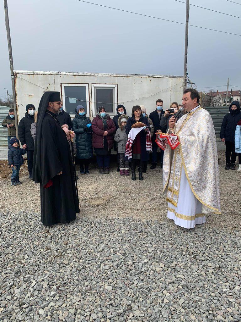 В Николаеве освятили нижний храм УГКЦ (ФОТО) 1