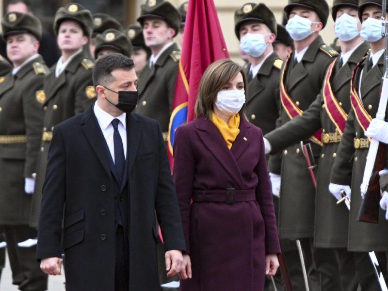 Сегодня в Украине – президент Молдовы Майя Санду (ФОТО)