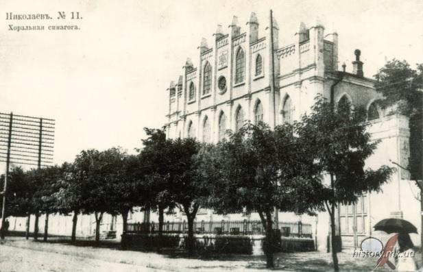 В Николаеве хотят установить бронзовый макет Хоральной синагоги