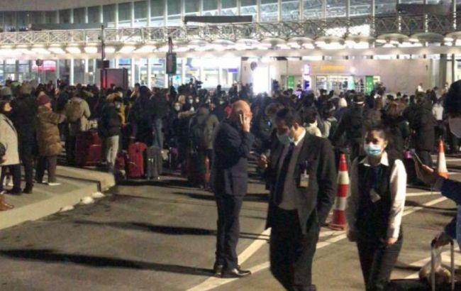 В аэропорту Франкфурта эвакуировали тысячи человек из-за вспыльчивого жителя Словении