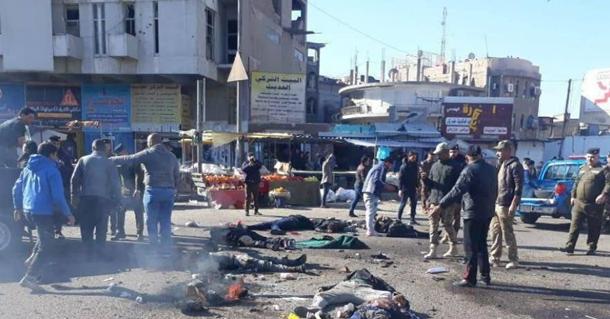 В Ираке двойной теракт – много погибших и раненых (ФОТО, ВИДЕО)
