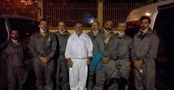 Из нигирейского плена освободили 6 украинских моряков, – Зеленский (ФОТО)