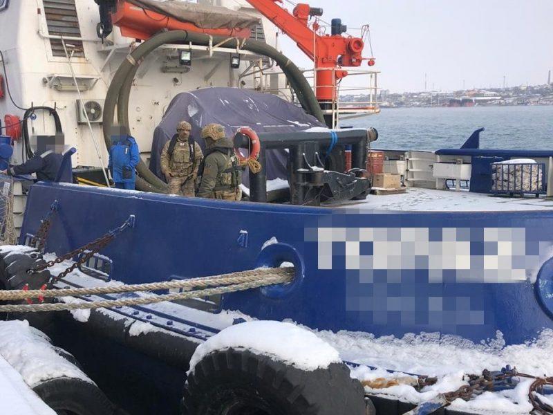 Схема. Из Одессы моряков незаконно отправляли в Крым, — СБУ (ФОТО)