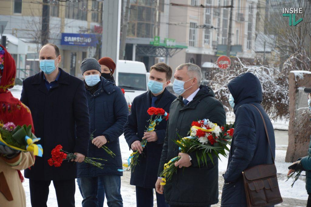 В Николаеве скромно почтили память героев Крут (ФОТО и ВИДЕО) 3