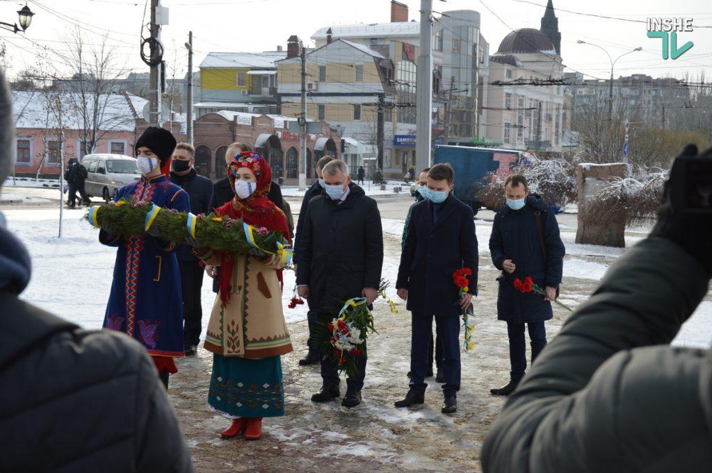 В Николаеве скромно почтили память героев Крут (ФОТО и ВИДЕО) 13